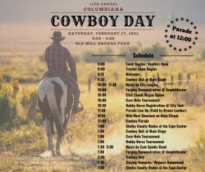 Cowboy Day Schedule
